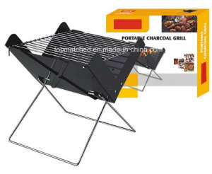 Portable Grill Folding BBQ Camping Picnic Barbecue Foldable Outdoor