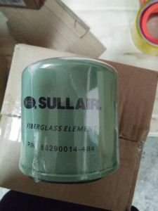 Sullair Oil Filter 88290014-484 Fiber Glass Element Sullair Filter Replacement Parts and Filter