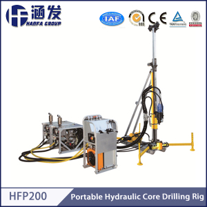 Rock Coring Drilling Rig with Complex Geographic Characteristics