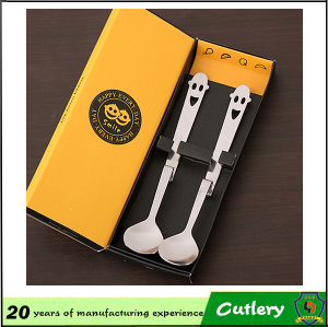 Happy Face Stainless Steel Cutlery Set