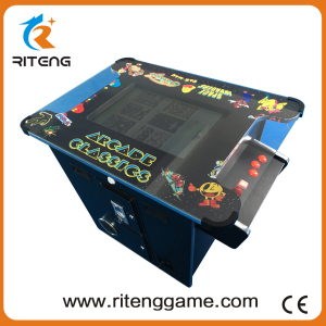 Coin Operated Cocktail Game/ Arcade Game Machine