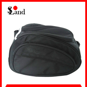 outdoor Black Travel Saddle Bag for Motorcycle