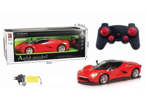 4 Channel Remote Control Car Toys with Light Battery Included (10253136)