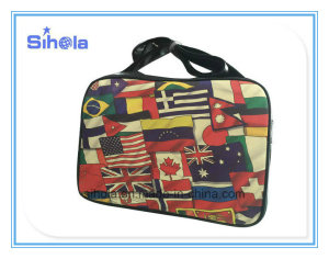 Flag of All Nations Print Design Travel Bag