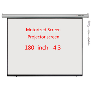 Electric Screen 180 Inch 4: 3 HD Projector Screen