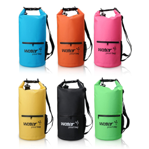 Hot Selling Outdoor Camping Hiking Waterproof Dry Bag with Zipper Pocket