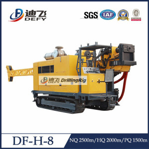 Fully Hydraulic Geological Core Drilling Machine
