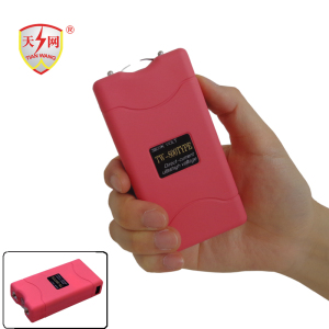 Small Pink Taser (TW-800) with Electric Shock for Self Defense