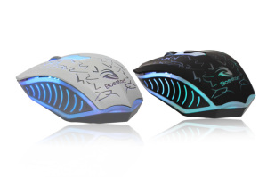 Sades Optical LED 6 Buttons Backlight Wired Gaming Mouse, LED Mouse