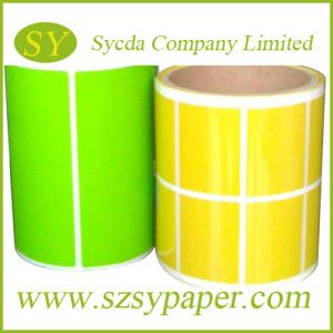 Colorful Thermal Self-Adhesive Label for Thermal Printing