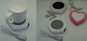 Easy Installation USB Warmer Cup Pad