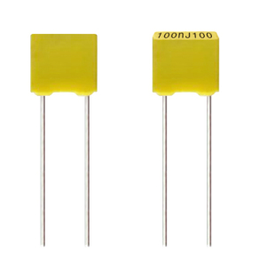 Box Type Metallized Polyester Film Capacitor (Cl71)