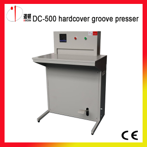 Hardcover Groove Pressing Machine