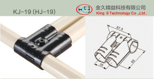 Lean Pipe Supporting Metal Joint (KJ-19)