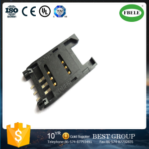 All Plastic SIM Clamshell Booth Connector