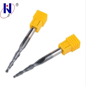 Customized 2 Flute Solid Carbide Taper Ball Nose End Mill