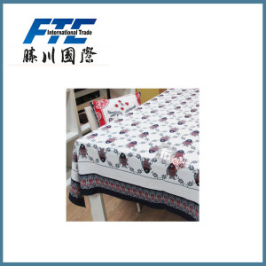 Pure Cotton Printing Decorative Pattern Table Cloth