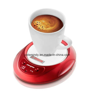 DC Plug Cup Warmer with LED, Electric Cup Mug Warmer