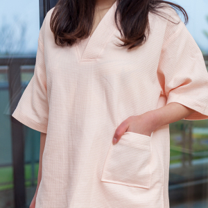 100% Cotton Hotel Waffle Pajamas with High Quality