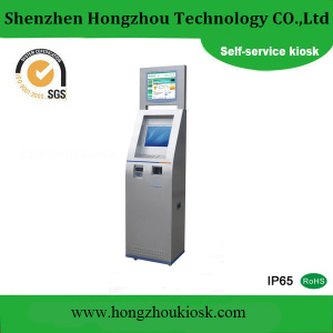 Touch Screen Credit Card Payment Interactive Information Kiosk