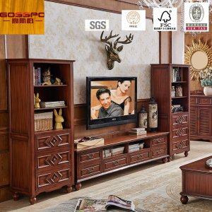European Style New Design LCD TV Stand / TV Cabinet (GSP13-005)