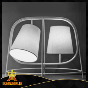 Simple Style Iron Fabric Table Light (KAMT4334-2)