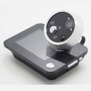 3.5 Inch Digital Doorbell Peephole Camera with Video Photos Taking