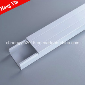 50*80mm Plastic Wire PVC Trunking with High Quality