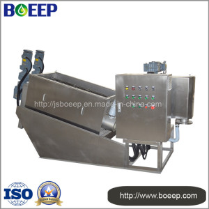 Sludge Dewatering Filter Press Machine in Chemical Wastewater Treatment (MYDL302)