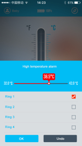 Intelligent Thermometer for Android Phone