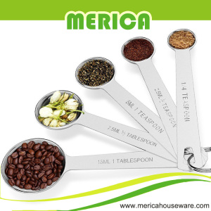 5 Sets Stainles Steel Espresso Spoon