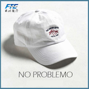 Fashion Unstructured Embroidery Baseball Cap