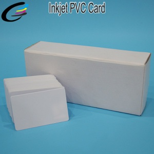 86*54*0.76cm Free Samples Direct Inkjet Print PVC Card Supplier