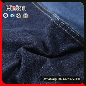 Factory Sale Cotton Spandex Knitted Denim Fabric Pique Jean Fabric