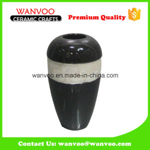 Black Ceramic Flower Vase Floor Vase Wall Vase of Different Styles