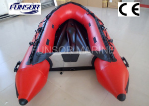 Inflatable Rubber Motor Boat with Airmat Floor (FWS-A290)