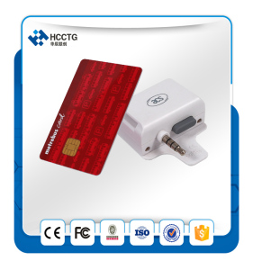 Headphone Jack Smart Card Reader POS Machine for Mobile Phone Credit Card Swipe -ACR31