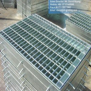 Galvanized Steel Grating for Walkway Platform and Drain Cover