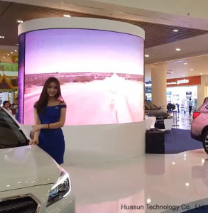 Galaxias P3.9 Curved LED Display, Round Shape Screens