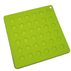 Square Non-Skid BPA Free Silicone Placemat Tablemat