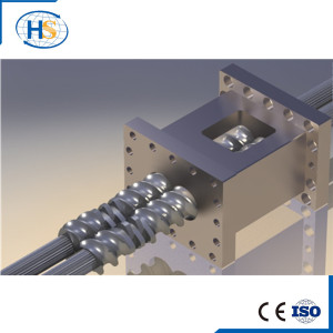Nanjing Haisi Screw and Barrel for Plastic Extruder Machine/Screw Element
