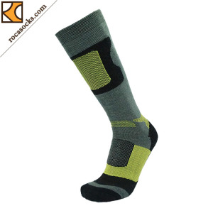Men′s Warm Ski Merino Wool Socks (161002SK)