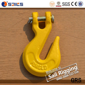Zincing Plated Clevis Grab Lifting Hooks