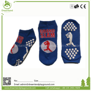 Customized Wholesale Professional Indoor Trampoline Park Anti Slip Trampoline Sock