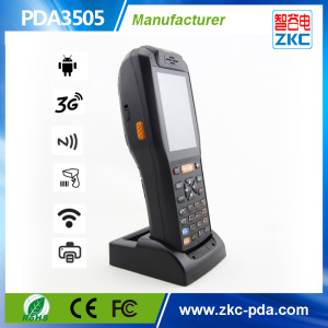 Android Handheld Terminal with Printer, Barcode Scanner, RFID Reader (PDA3505)