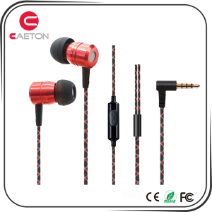 High Quality Metal Wired Earphone for Mobile Phone