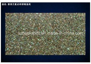New Zealand Abalone Shell Sheet in Stars