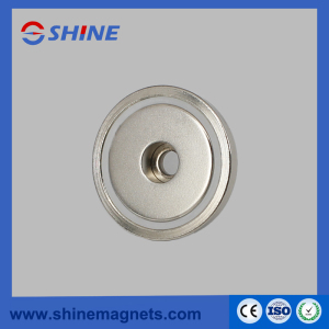 D32mm Round Strong NdFeB Pot Magnet with Countersunk