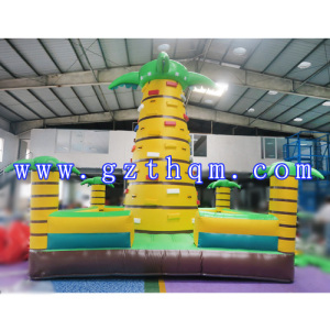 Inflatable Rock Climbing Wall/Inflatable Commercial PVC Type Climbing Wall/Outdoor Inflatable Rock C
