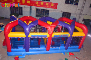 High Quality Inflatable Boulder Dash Run for Outdoor Games (chsp290)